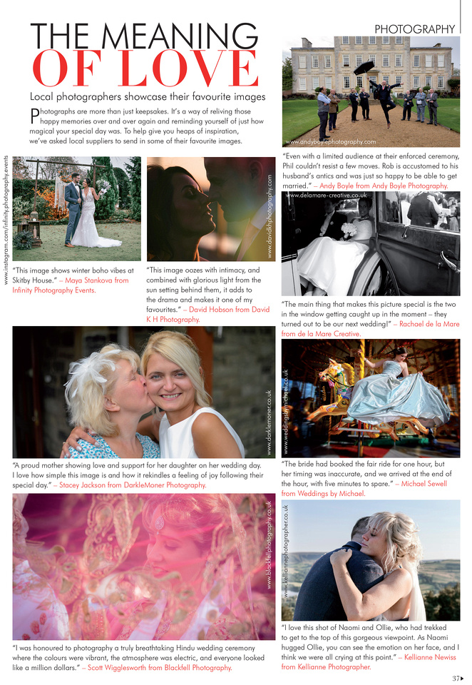 Your North West wedding magazine feature April May 21 page37